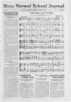 State Normal School Journal, March 25, 1920