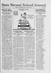 State Normal School Journal, April 15, 1921