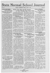 State Normal School Journal, June 17, 1921