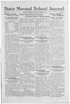 State Normal School Journal, October 7, 1921