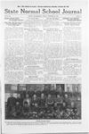 State Normal School Journal, October 21, 1921