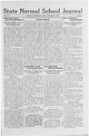 State Normal School Journal, November 11, 1921