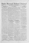 State Normal School Journal, September 23, 1921