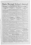 State Normal School Journal, September 30, 1921