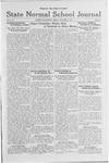 State Normal School Journal, October 14, 1921