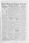 State Normal School Journal, November 4, 1921