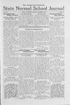 State Normal School Journal, December 9, 1921