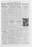 State Normal School Journal, December 16, 1921