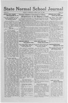 State Normal School Journal, May 19, 1922