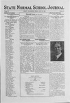 State Normal School Journal, July 21, 1922