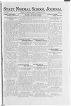 State Normal School Journal, September 29, 1922
