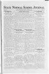 State Normal School Journal, October 6, 1922
