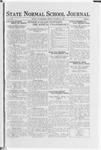 State Normal School Journal, October 27, 1922