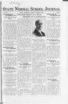 State Normal School Journal, November 10, 1922
