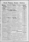 State Normal School Journal, April 27, 1923