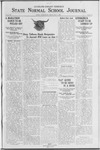 State Normal School Journal, May 4, 1923
