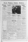 State Normal School Journal, September 28, 1923