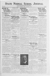 State Normal School Journal, November 16, 1923