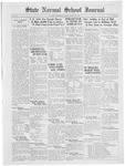 State Normal School Journal, January 15, 1925
