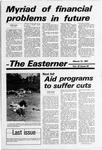 Easterner, Volume 32, No. 20, March 12, 1981