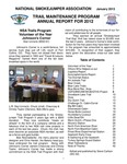 National Smokejumper Assocation Trail Maintenance Annual Report for 2012