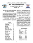 National Smokejumper Assocation Trail Maintenance Annual Report for 2017