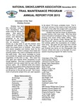 National Smokejumper Assocation Trail Maintenance Annual Report for 2015 by National Smokejumper Association Trails Committee