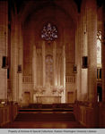 Main altar of the Cathedral of St. John the Evangelist, Spokane, Washington. by Harold Clarence Whitehouse and Whitehouse & Price