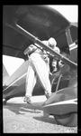 Jumper entering Stinson Reliant by David P. Godwin