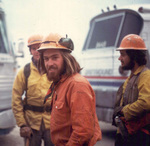 Wayne Williams with other forestry workers by Wayne Williams