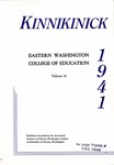 Kinnikinick, 1941 by Eastern Washington College of Education. Associated Students.